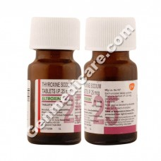 Eltroxin 25 mcg Tablet