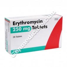 Erythromycin 250 mg Tablet