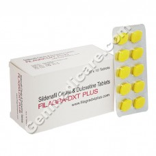 Filagra DXT Plus (Sildenafil Citrate 100mg and Duloxetine 60 mg)