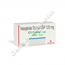 Glinate 120 mg Tablet