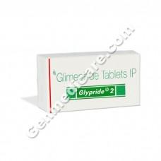 Glypride 2 mg Tablet, Diabetes