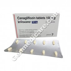 Invokana 100 mg Tablet