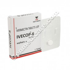 Ivecop 6 mg Tablet