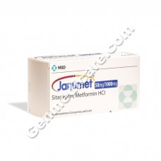 Janumet 50 mg/1000 mg Tablet