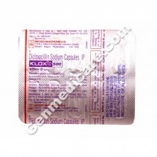 Klox-D 500 mg Capsule, Antibiotics