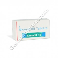 Korandil 10 mg Tablet, Anti Anginal