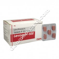 Levoquin 500 mg Tablet
