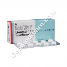 Lioresal 10 mg Tablet