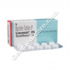 Lioresal 25 mg Tablet, Ortho Care