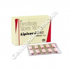 Lipicard 160 mg Tablet, Cholesterol Reducer