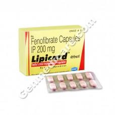 Lipicard 200 mg Tablet