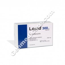 Lopid 300 mg Capsule
