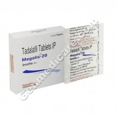 Megalis 20 mg Tablet
