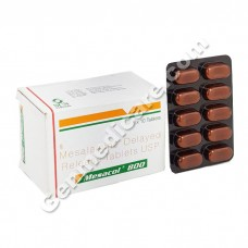 Mesacol 800 mg Tablet DR