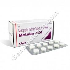 Metolar 100 mg Tablet, Anti Anginal