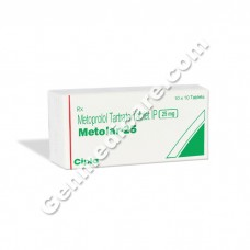 Metolar 25 mg Tablet