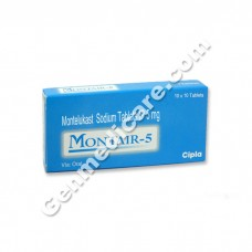 Montair 5 mg Chewable Tablet, Allergy