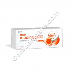 Mucinac 600 mg Effervescent tablet
