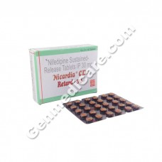 Nicardia CD Retard 30 mg Tablet