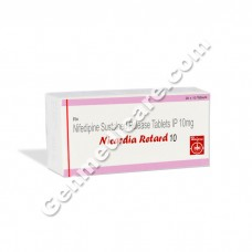 Nicardia Retard 10 mg Tablet