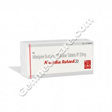 Nicardia Retard 20 mg Tablet, Anti Anginal