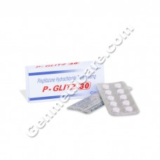 P Glitz 30 mg Tablet, Diabetes