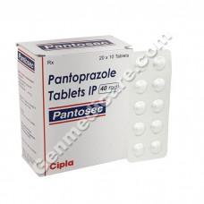 Pantosec 40 mg Tablet, Acid Reducers