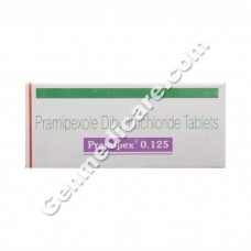 Pramipex 0.125 mg Tablet, Anti Parkinsonian