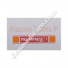 Prazopress 1 mg Tablet, Heart & Blood Pressure