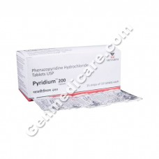 Pyridium 200 mg Tablet