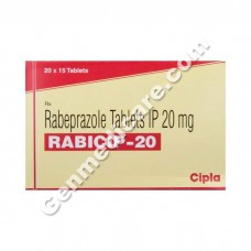 Rabicip 20 mg Tablet, Acid Reducers