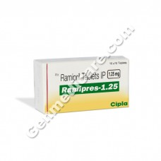 Ramipres 1.25 mg Tablet
