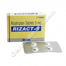 Rizact 5 mg Tablet
