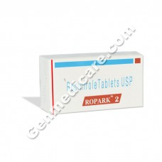 Ropark 2 mg Tablet, Anti Parkinsonian