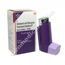 Seretide 250 Evohaler, Asthma