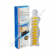 Orlistat 120 mg Capsule (Slimtop)