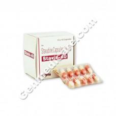 Stavir 40 mg Capsule, Hiv Care