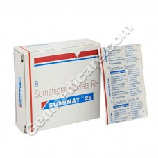Suminat 25 mg Tablet, Anti Migraine Drugs