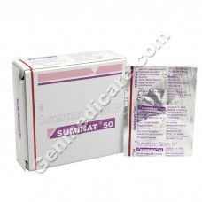 Suminat 50 mg Tablet