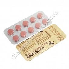 Super Vidalista, Tadalafil Dapoxetine Tablet (Premature ejaculation Medication uk)