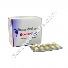 Susten 100 Soft Gelatin Capsules, Infertility Therapy