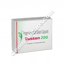 Susten 200 Soft Gelatin Capsules, Infertility Therapy
