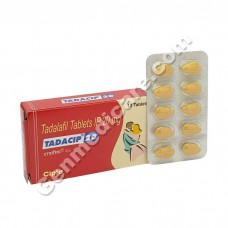 Tadacip 20 mg (Pack of 10 Tablets), Weekend Pill, Tadalafil 20mg Tablets