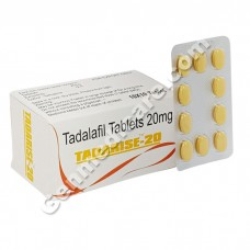 Tadarise 20 mg, Tadalafil 20 mg, Best Medicine for Erectile Dysfunction