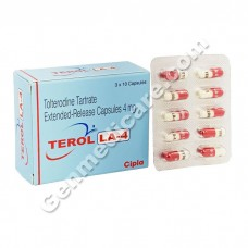 Terol LA 4 mg Capsule, Bladder Prostate Care