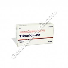 Trivedon 20 mg Tablet, Anti Anginal