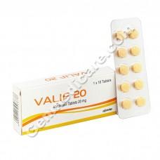 Valif 20 mg Tablet