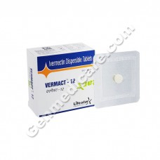Vermact 12 mg Tablet, Anthelmintic & Anti-Worm
