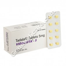 Vidalista 5 mg, The Weekend Pill (Tadalafil 5 mg)