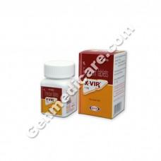 X Vir 1 mg Tablet